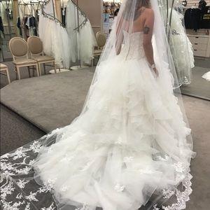Tags still/wedding dress/David's Bridal